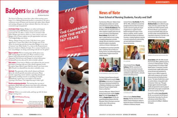 magazine spread, pubication, graphic design