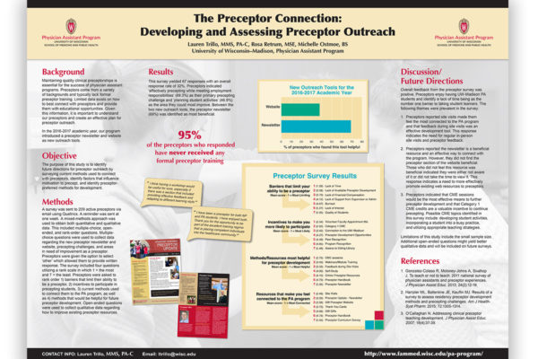 Media Solutions; Graphic Design; University of Wisconsin; School of Medicine and Public Health; UW-Madison; poster; PA