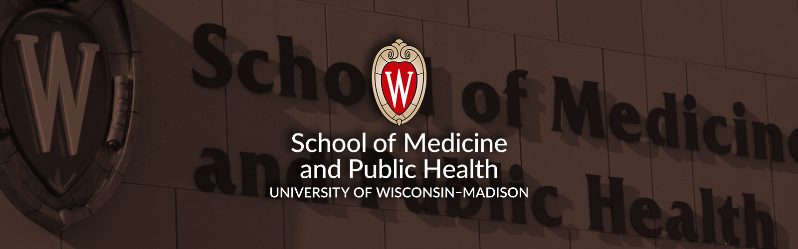 logo for School of Medicine and Public Health, University of Wisconsin-Madison